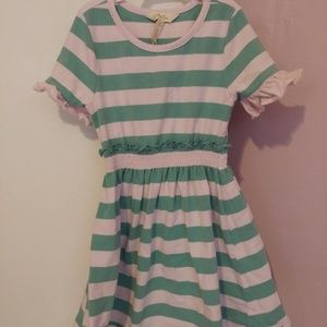 Matilda Jane pink and green dress. Size 4.